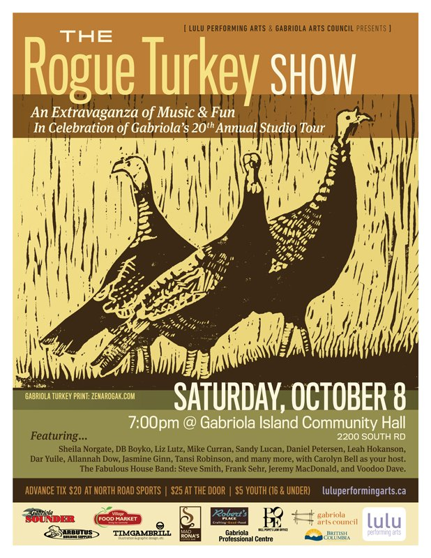 The Rogue Turkey Show!