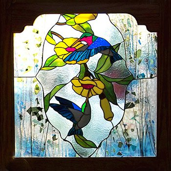 37 ~ Gulf Island Stained Glass