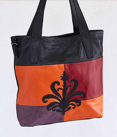 35 ~ Indian Summer Leather Design